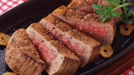 meat, stake, cuts
