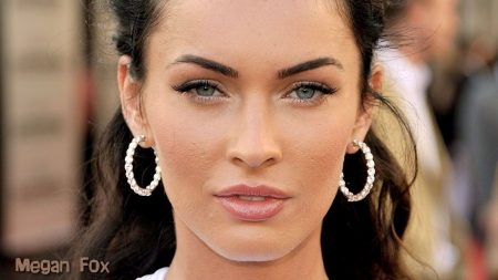 megan fox, face, make-up