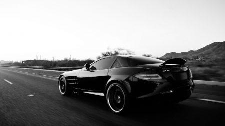 mercedes benz, car, black