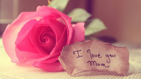 message, love, mom