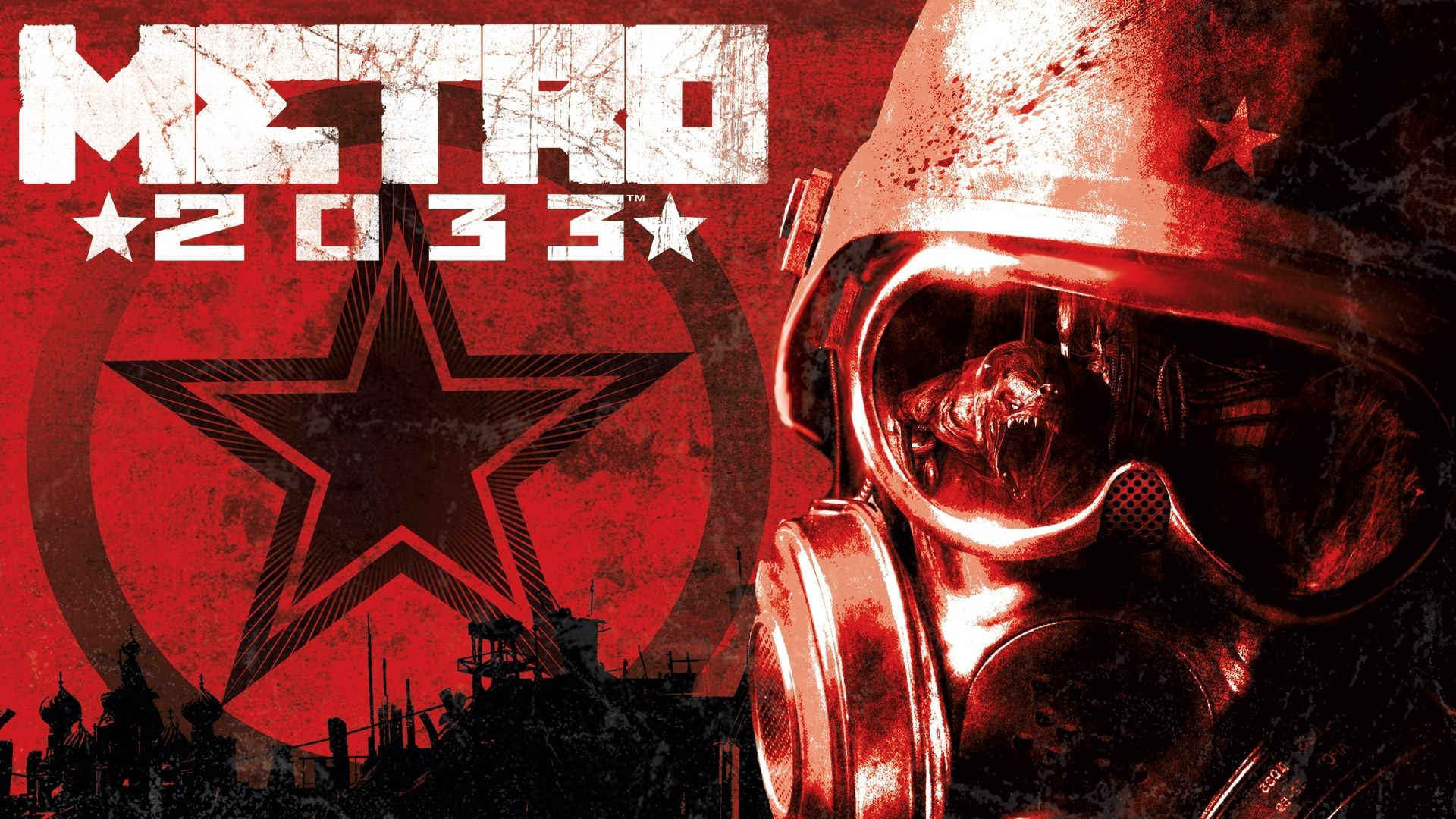Download Wallpaper 1920x1080 Metro 2033, Helmet, Soldier