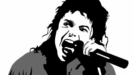 michael jackson, vector graphics, face