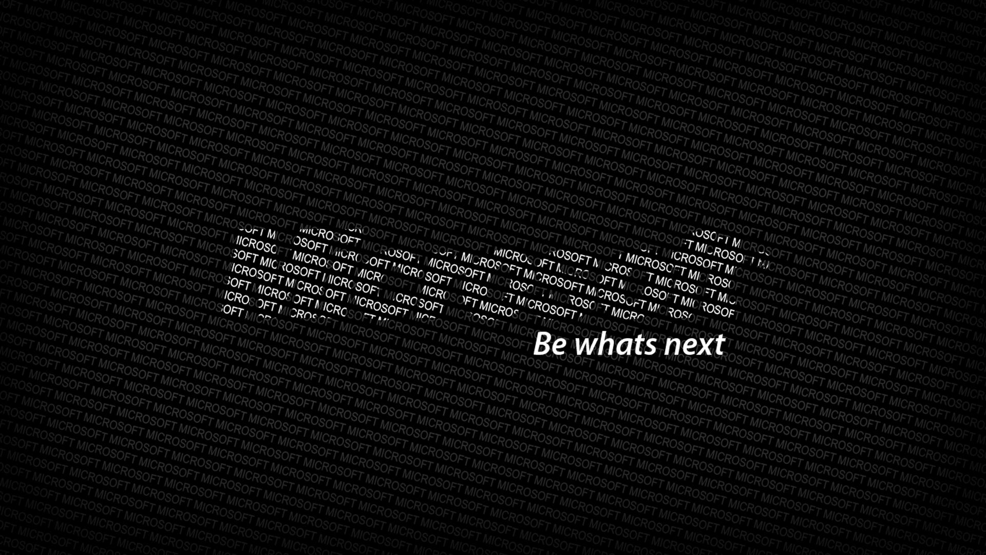 Download Wallpaper 1920x1080 microsoft, logo, text, words, be whats