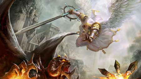 might and magic heroes, warrior, wings
