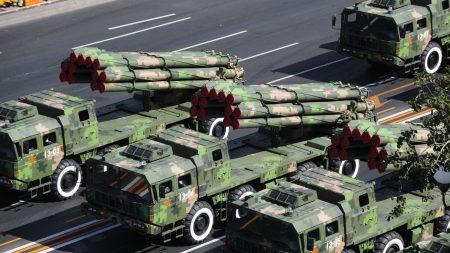 military, china, parade