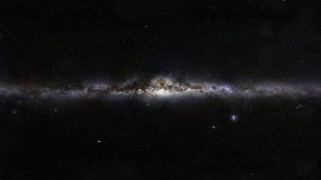 milky way, stars, space