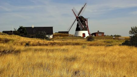 mill, farm, field