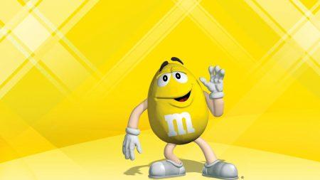 mms, yellow, character