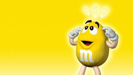 mms, yellow, idea