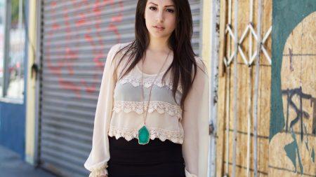 model, girl, shirt