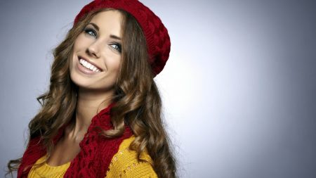 model, hat, eyes