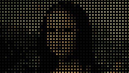 mona lisa, portrait, pixels