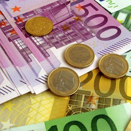 money, euro, banknotes