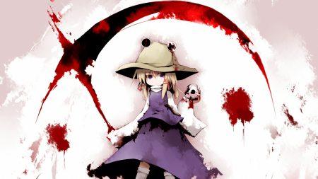 moriya suwako, girl, hat