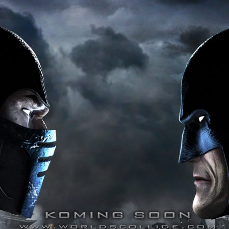 mortal kombat, batman, faces