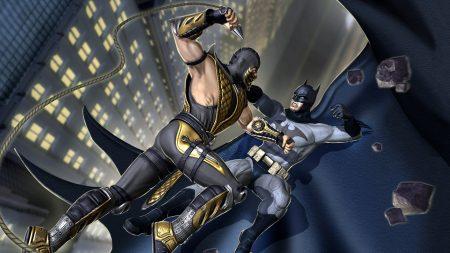 mortal kombat, batman, fighter