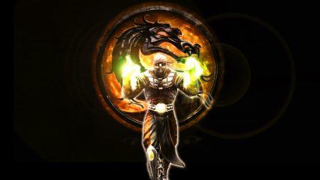 mortal kombat, character, dragon