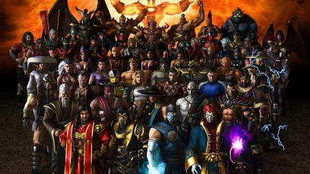 mortal kombat, characters, faces