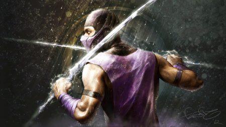 mortal kombat, rain, hero