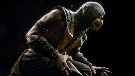 mortal kombat x, scorpio, ninja
