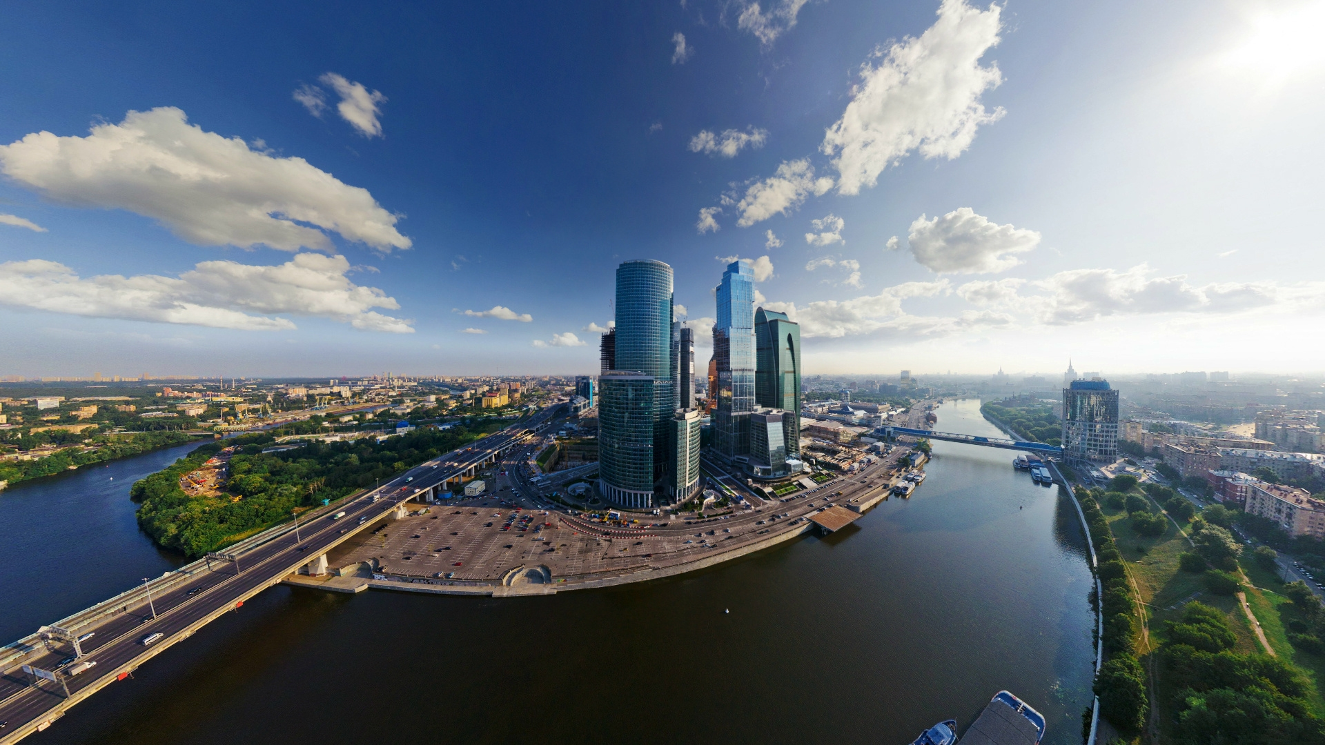Earnings Disclaimer >> Download Wallpaper 1920x1080 moscow city, moscow ...