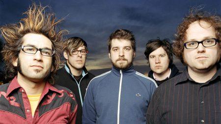 motion city soundtrack, glasses, band