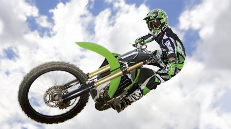 motorcycle, trick, jump