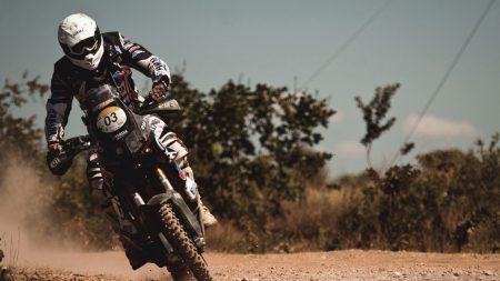 motorcyclist, motion, stunt