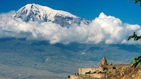 mountain, ararat, height
