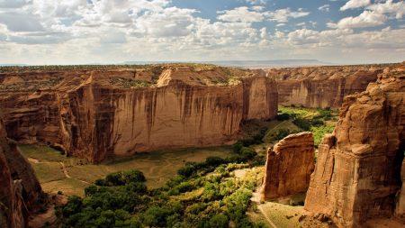 mountain, canyon, landscape