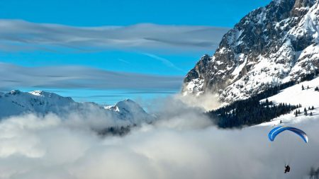 mountain, elevation, sky