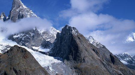 mountains, stones, sharp