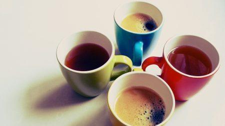 mugs, color, drink