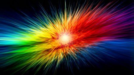 multicolored, explosion, shine