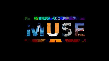 muse, sign, letters