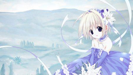 nanase aoi, girl, dress