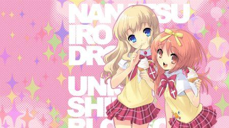 nanatsuiro drops, girls, cute
