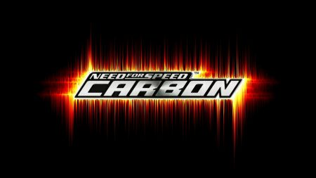 need for speed carbon, graphics, font