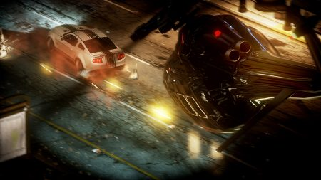 need for speed run, helicopter, car