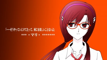 neon genesis evangelion, evangelion 20 you can, makinami mari illustrious