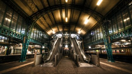 netherlands, escalator, subway