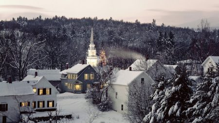 new england, snow, winter