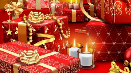 new year, christmas, boxes