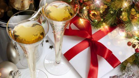 new year, christmas, christmas tree