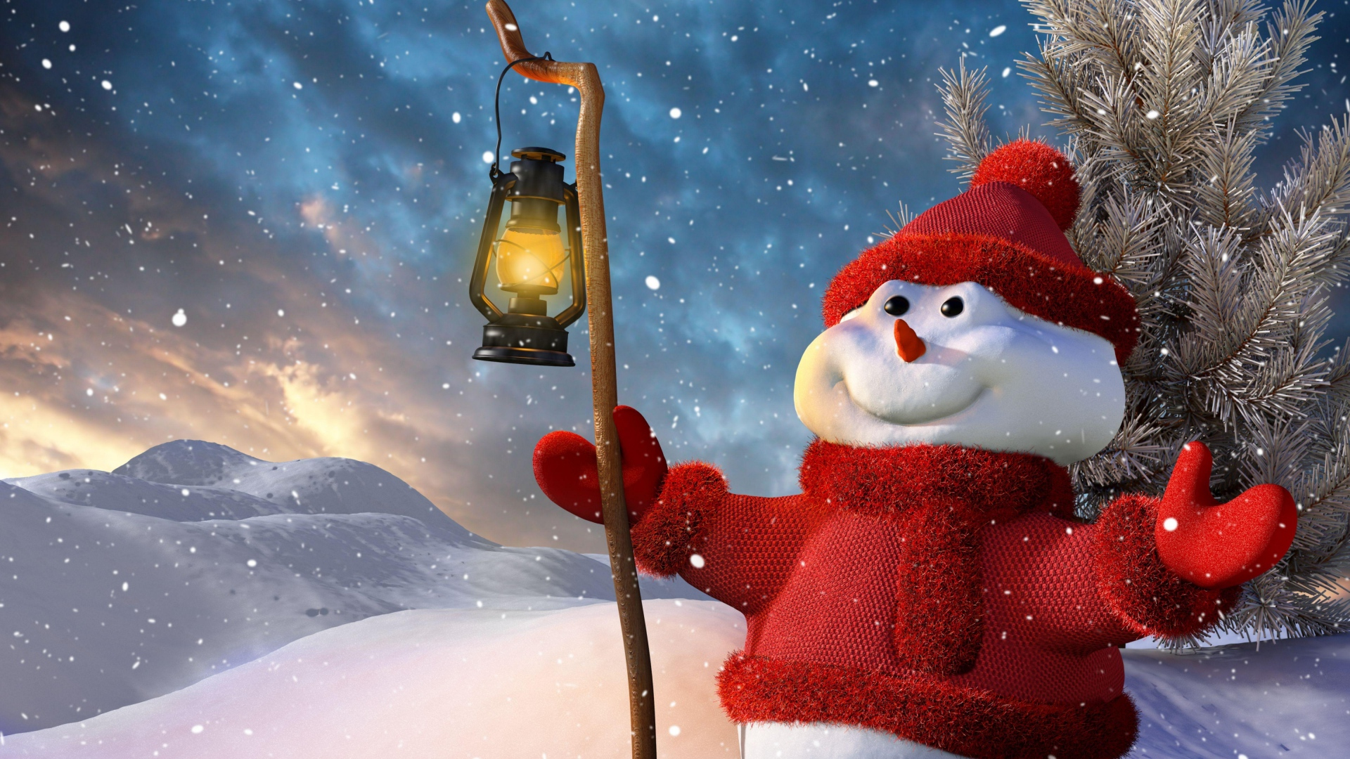Christmas Hd Wallpapers 1080p.Download Wallpaper 1920x1080 New Year Christmas Snowman