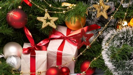 new year, holiday, gifts