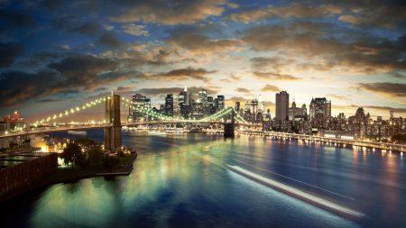 new york, brooklyn, bridge
