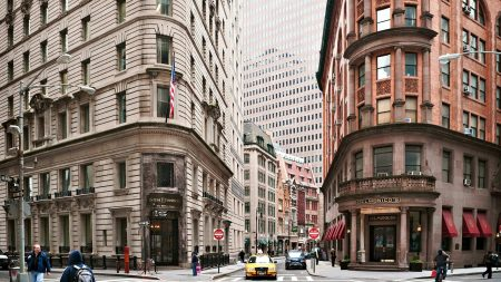 new york, buildings, street