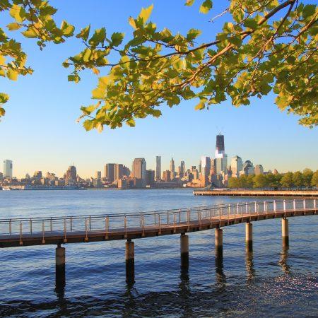 new york, city, water