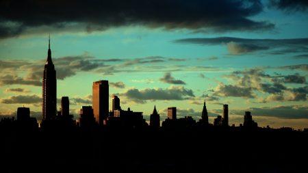 new york, empire state building, manhattan